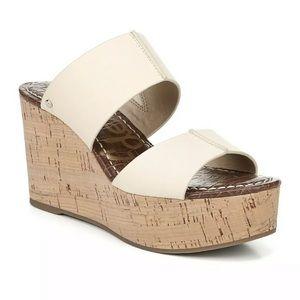 Sam Edelman 9.5 Damara Cork Wedge Sandal Platform